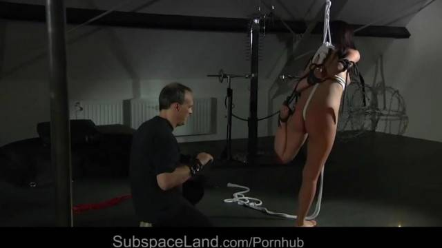 Asian Slut Marika Haze Harsh used in Bondage Rite by Tough Master