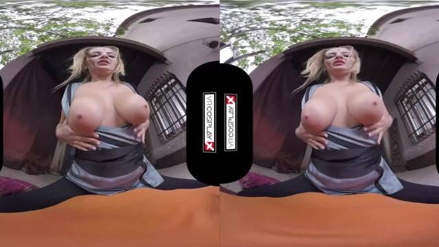 Cosplay busty babes satisfy your cock in POV VR compilation