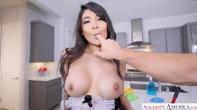 Hardcore POV fuck with sexy maid Brenna Sparks