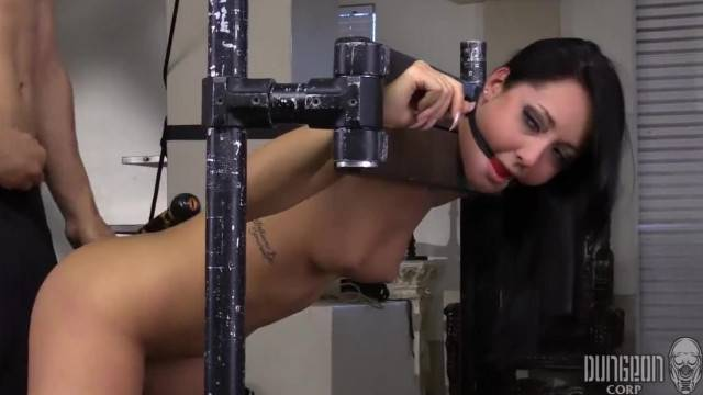 Sex slave Sabrina Banks fucked hard in BDSM lesson