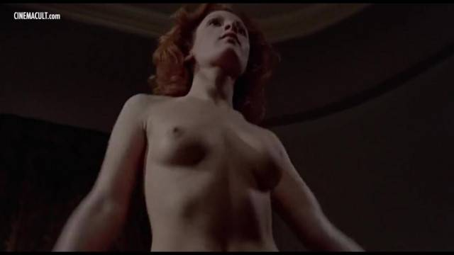 Hot celebrity compilation with nude scenes in vintage horror movies