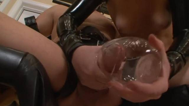 Dominatrix milking guy compilation